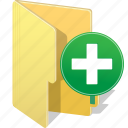 add, directory, document, file, folder, plus icon