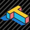 3d alphabet, 3d font, 3d letter, 3d t, 3d text icon