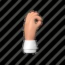 ok, hand, gesture
