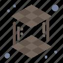 3d, cube, layer, printing