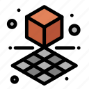 3d, cube, printing, shape