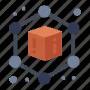3d, cube, geometric