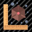 3d, cube, gadget, model, printer