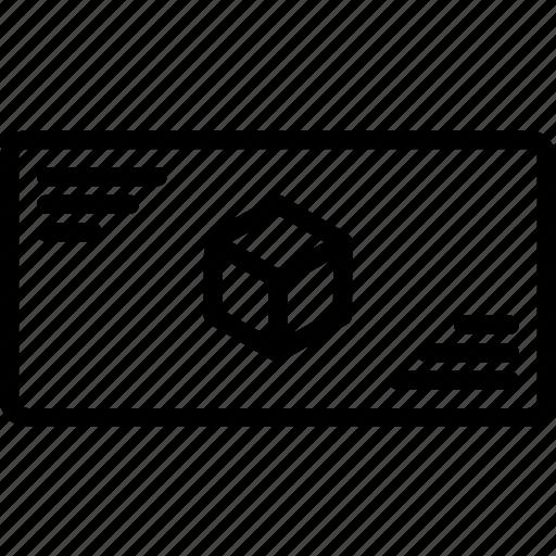 cube, information, print, printing, three dimensional icon