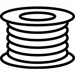 filament, print, printing, shape, three dimensional icon