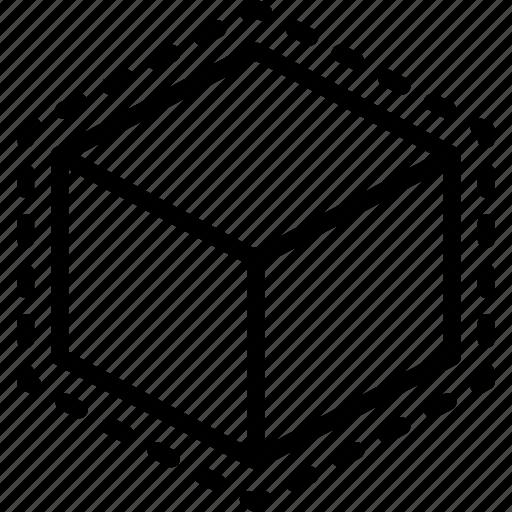 print, printing, shape, space, three dimensional icon