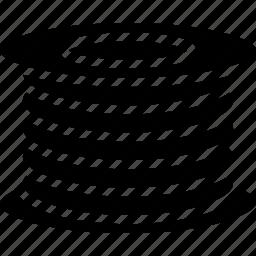 filament, print, printing, shape, three demensional icon