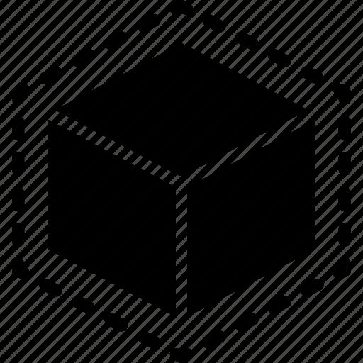 print, printing, shape, space, three demensional icon