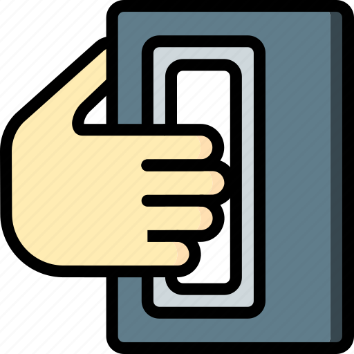 handheld, print, printing, scanner, shape, three demensional icon