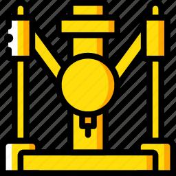 industrial, print, printer, printing, shape, three dimensional icon