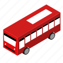 bus, city, vehicle icon