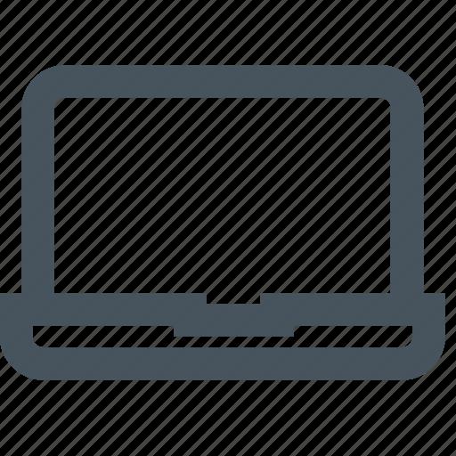 computer, laptop, mac, notebok, notebook, pc, screen icon