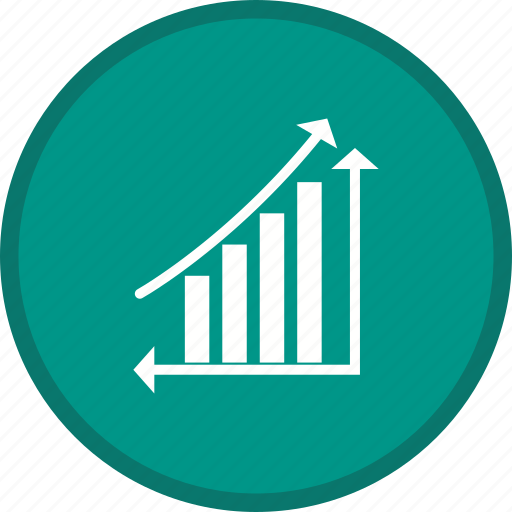 analytics, ascending, chart, growth, statistics icon