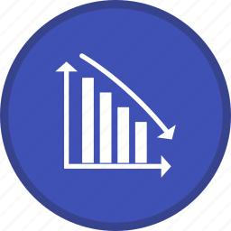 descending, report, statistics icon
