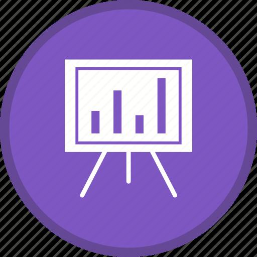 graph, growth, report, statistics icon