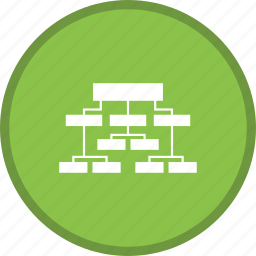 business, seo, structure icon