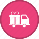 delivery, gift, shipping icon