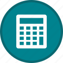 calculation, calculator, math, office, seo icon