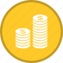 coin, dollar, earn icon
