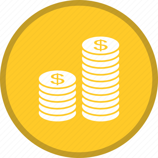 cash, coin, currency, dollar, earn, money icon