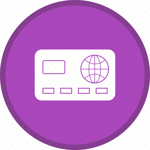 Card, atm, credit card, banking icon