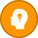 brainstorming, bulb, creative, creativity, idea icon