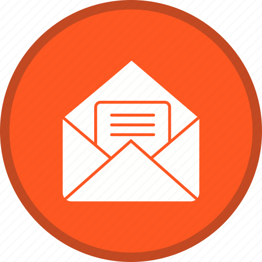 Letter, email, message, envelope icon