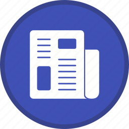 article, news, newspaper icon
