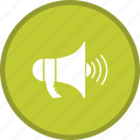 announcement, loudspeaker, megaphone icon