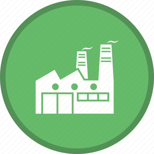 Factory, building, industry, estate icon - Download on Iconfinder