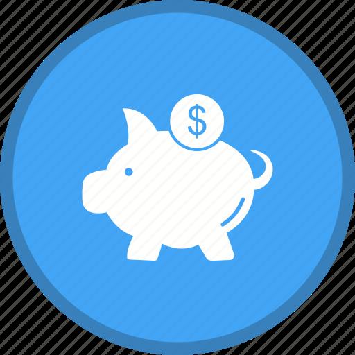 bank, piggy, saving icon