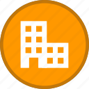 building, estate, office icon