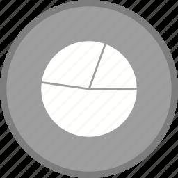 chart, pie chart, statistics icon