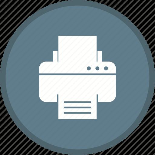device, machine, print, printer, printing, technology icon