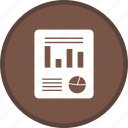 document, file, plan, report, statistic icon