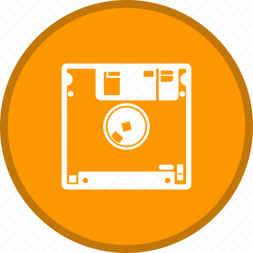 disk, diskette, floppy, storage icon