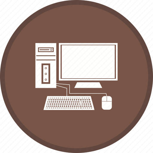 computer, desktop, device, display, monitor, pc icon