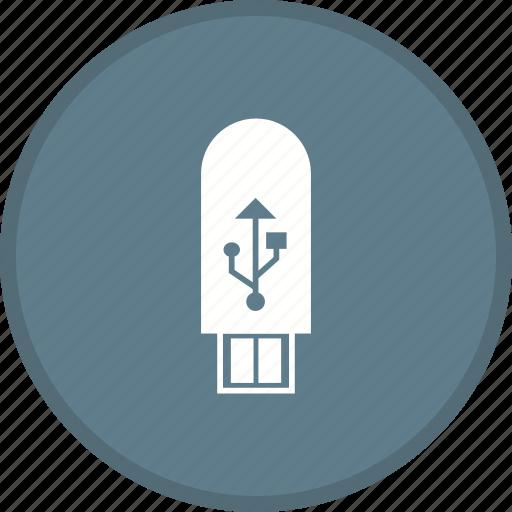 device, storage, u.s.b icon