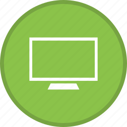 desktop, device, display, monitor, screen, television, tv icon