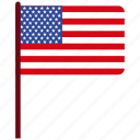 flag, usa icon icon