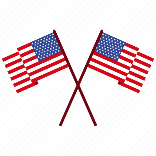 america, american, flag, independence day, july 4 icon