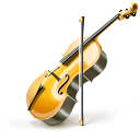 violin, instrument icon