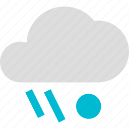 cloud, cloudy, rain, rainy, sleet, weather icon