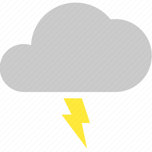 bolt, cloud, lightning, storm, thunder, weather icon