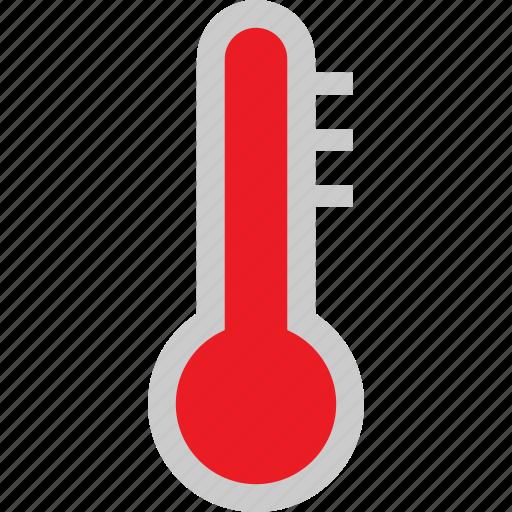 hot, meter, unseasonably, warm, weather icon