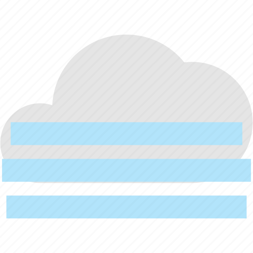 cloud, cold, fog, fogy, weather icon