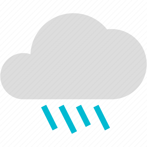 cloud, occasional, rain, rainy, weather icon