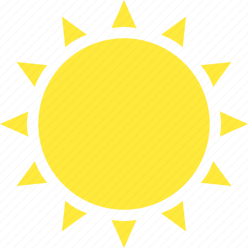 Hot, sun, sunny, weather icon - Download on Iconfinder