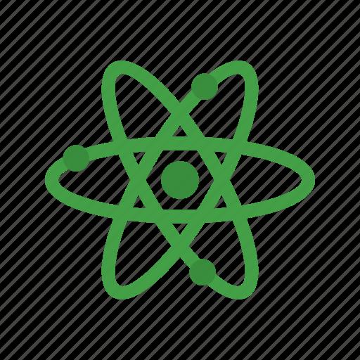 atom, chemistry, molecule, science, science icon icon