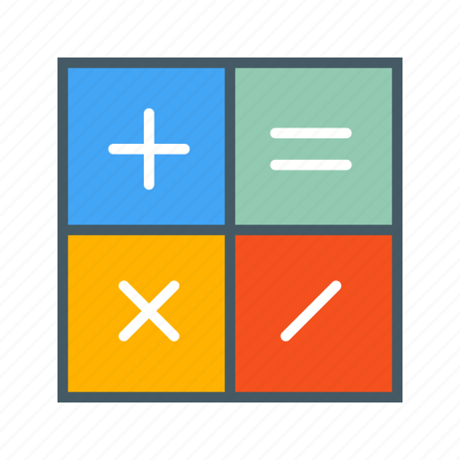 Calculator, mathematics, accounting, calculation icon - Download on Iconfinder